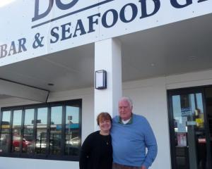 Anna and John McDonald at Docks.