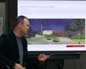 Rough & Milne Landscape Architects director Brooke Mitchell presents the Christchurch firm's...