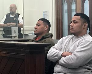 Sentenced ... Taniela Siale (left) and Suliasi Fangatua have been jailed for an attack on woman...