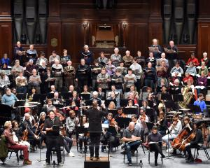 The Dunedin Symphony Orchestra. Photo: ODT files