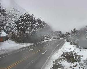 Arthur's Pass can become heavily snowed in winter. Photo: NZTA