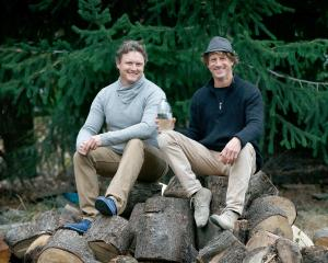 Michael Sly (left) and Mathurin Molgat founded Wilding and Co, which produces essential oil for...