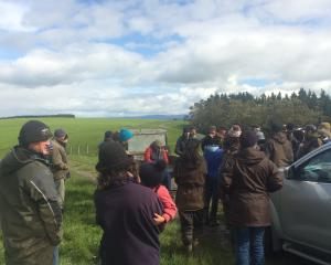Members of the Regenerative Agriculture South Otago Red Meat Profit Partnership Action Group...