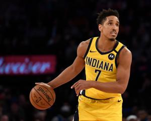 Indiana Pacers guard Malcolm Brogdon has tested positive for coronavirus. Photo: Getty Images