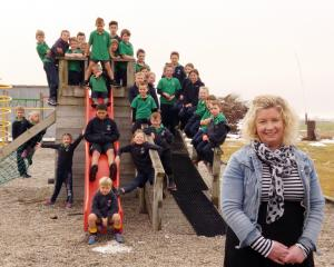 New Poolburn School principal Melissa Gare's start in the job was interrupted by Covid-19...