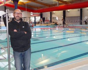 Waitaki Aquatic Centre manager Matthew Lanyon at the aquatic centre yesterday, before its...