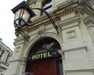 The Criterion Hotel in Oamaru's Victorian precinct has been renamed the Emerton Hotel for the...