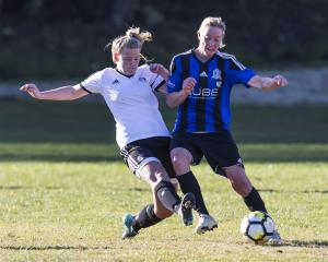 Queenstown beat Roslyn Wakari in their season opener. Photo: Adam Binns