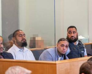 The sports star has been linked by the Crown to the drug syndicate of Tevita Fangupo (left), Toni...