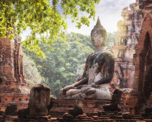 A Buddhist temple in the city of Ayutthaya Historical Park. Photo: Getty Images