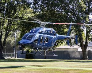 The Eagle helicopter in Christchurch. Photo: Supplied