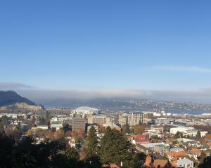 The view across Dunedin from the town belt. PHOTOS: CLARE FRASER