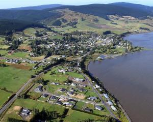 Waihola's expansion north is a sign of a confident economy, Clutha Mayor Bryan Cadogan says....