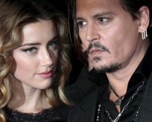 Amber Heard and Johnny Depp. Photo: Reuters