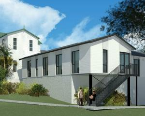 Artists' impressions of the new Ashburn Clinic wing. PHOTO: FELDSPAR