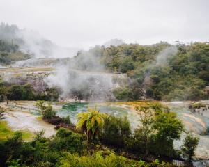 The Orakei Korako features geysers, hot springs and bubbling mud pools. PHOTOS:  BMW/JARED DONKIN...