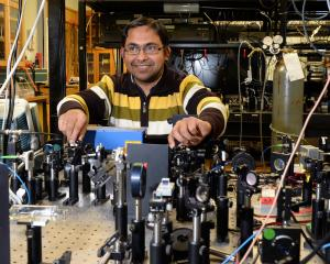 Physicist Dr Amita Deb (pictured) and his colleague Associate Professor Niels Kjaergaard have...