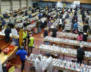 Popular Bookarama is back in September. Photo: Ashburton Courier