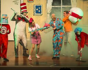 The Cat in the Hat cast can't wait to get back on stage. PHOTOS: SUPPLIED