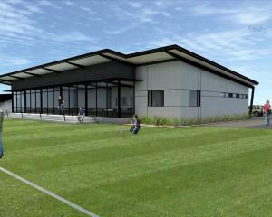An artist's impression of the new Halswell Hornets Rugby League Clubrooms. Image: Supplied