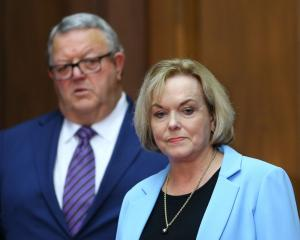 Judith Collins (right) and Gerry Brownlee. Photo: Getty Images