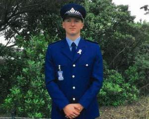 Constable Matthew Hunt. Photo: Supplied / NZ Police