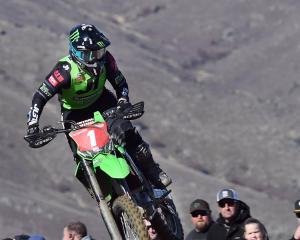 Dunedin's Courtney Duncan showed the crowd how she came to be the fastest female motocross rider...