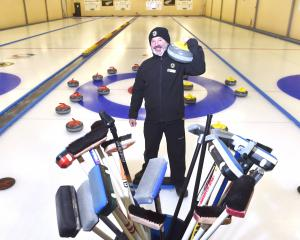 Manager Ewan Kirk and his team are ready for a busy couple of weeks at the Maniototo Curling...