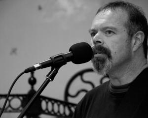 Dunedin musician Darryl Baser. PHOTO: PAUL S ALLEN