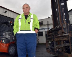 Forklifts NZ employee Adrian Goodall is concerned for the future of the company he works for....