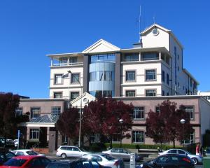 Dunedin Central Police Station. Photo: ODT files