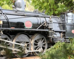 The 1915 locomotive Passchendaele operates the tourism train Marlborough Flyer. Photo: Supplied /...
