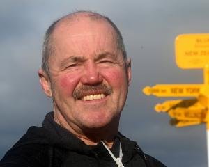 Bluff Community Board chairman Raymond Fife is optimistic about the future of the port town....