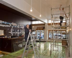 Penelope Baldwin and Nick Maguire are hands-on transforming the former Reef Seafood Restaurant ...