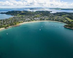 Oneroa, with its golden sand and sheltered bay, is one of Waiheke Island's favourite beaches....
