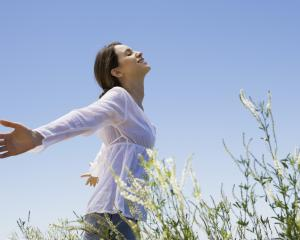 Deep breaths are a core part of many meditation practices. PHOTO: GETTY IMAGES
