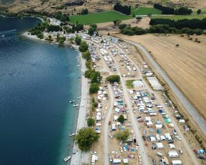 Glendhu Bay Motor Camp has close to 1500 people staying, and only a few free spots remain in the...