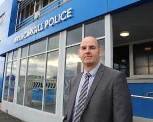 Southland area investigations manager Detective Senior Sergeant Stu Harvey says methamphetamine...