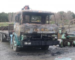 A Hiab truck fire in Roslyn Bush early on Tuesday morning was the 27th Southland fire labelled as...