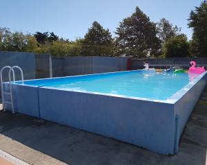 The Halkett Pool has been closed for the upcoming summer season. Photo: Supplied
