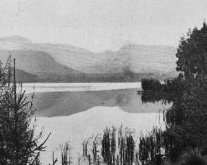 Lake Hayes, a charming stretch of water near Lake Wakatipu. — Otago Witness, 13.7.1920.