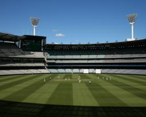 Fears have been raised over an unplayable wicket at the MCG. Photo: Getty Images