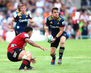 Michael Collins will move to fullback for the HIghlanders match against the Crusaders on Friday....