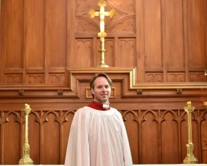 Michael Grant, the new musical director of St Paul's Cathedral, Dunedin. PHOTO: GREGOR RICHARDSON