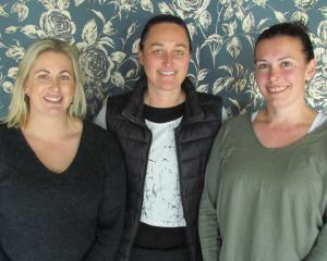 (From left) Joanna Hay, Kara Tartonne and Sarah Isbister are the driving force behind Lipgloss...