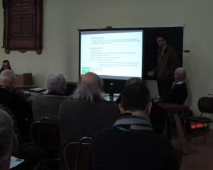 Environment Canterbury river engineering regional lead Shaun McCracken discusses erosion repairs...