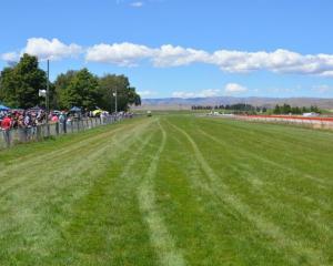 The Omakau track. Photo: Jonny Turner