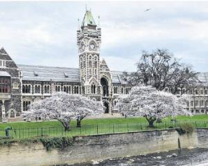 The University of Otago. Photo: Christine O'Connor
