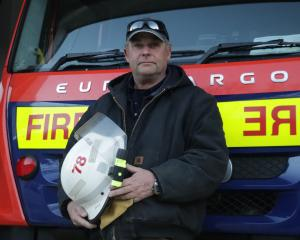 Arrowtown fire chief Murray Forward certainly knows how to leap out of bed in the dead of the...