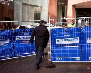 The man escaped from the Stamford Plaza Hotel in Auckland. Photo: NZ Herald
